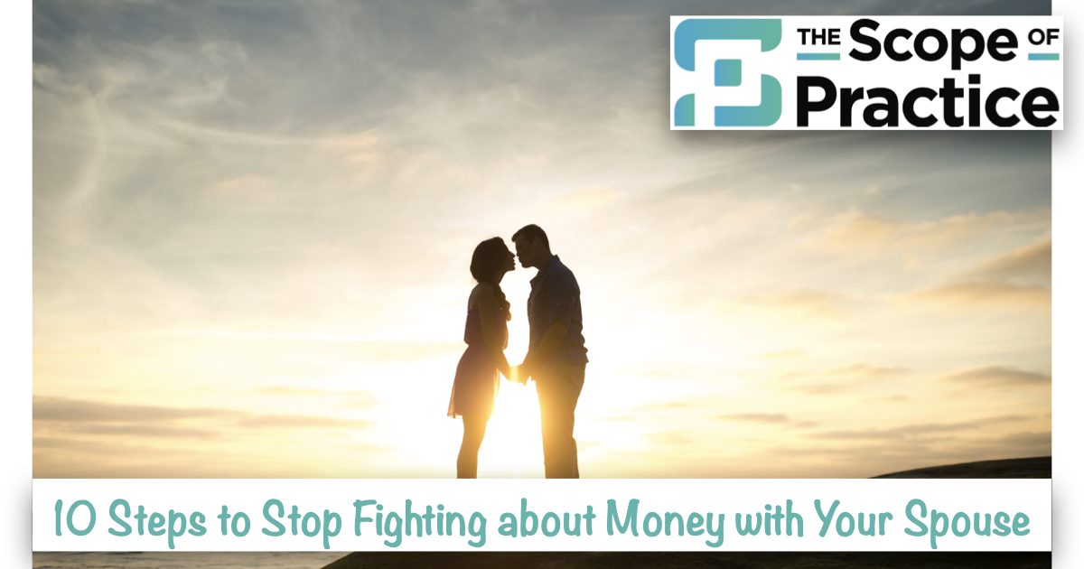 10 steps to stop fighting about money