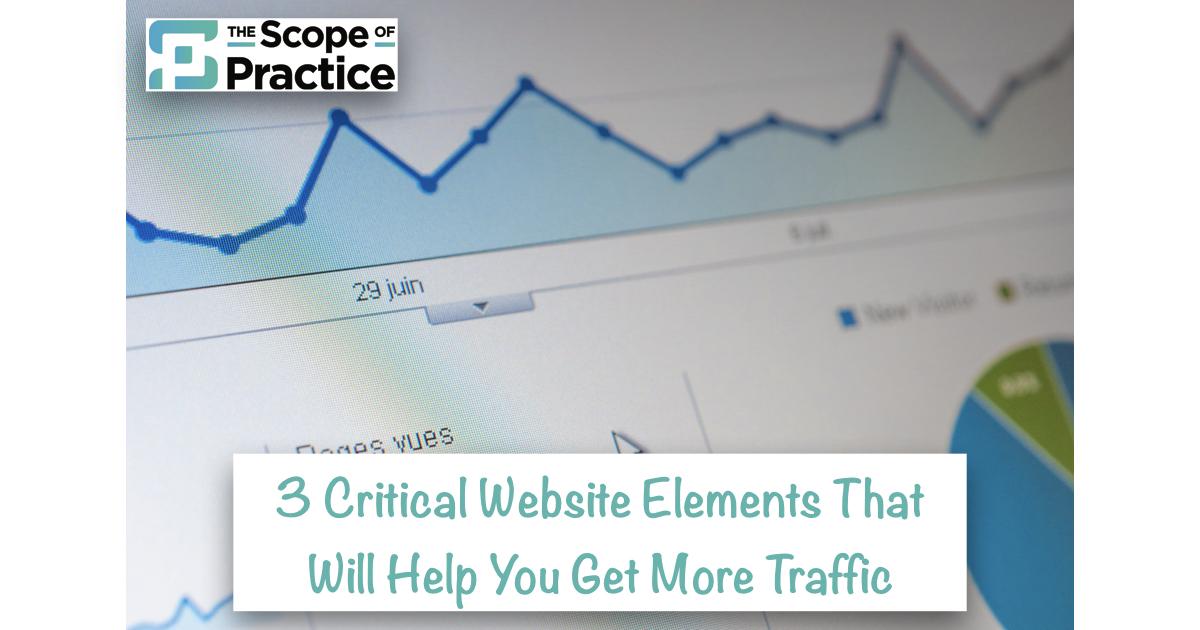 critical website elements