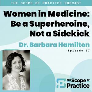 Dr. Barbara Hamilton - Tired Superheroine
