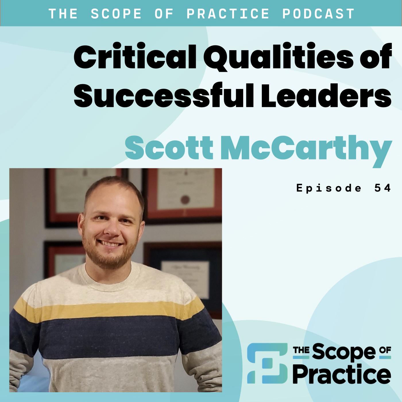 Scott McCarthy Moving Forward Leadership